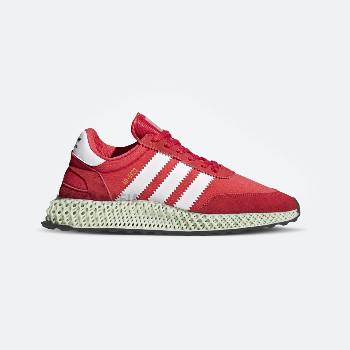 brand new 75a59 735ec Futurecraft 4d x i-5923 (iniki) red  ftwr white introducing adidas hybrids  releasing in september 2018