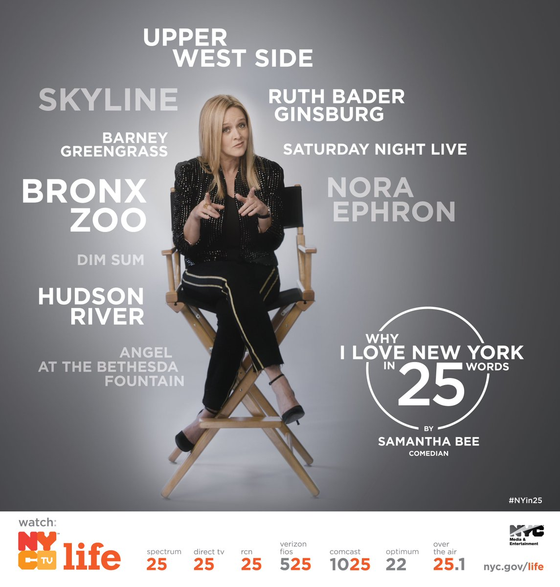 Nyc media on twitter today we launched new york in 25 a new prominent nyers including traceeellisross zacposen and iamsambee share what they love most about nyc in exactly 25 words publicscrutiny Choice Image