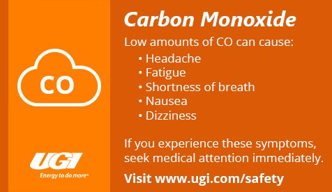 test Twitter Media - Low concentrations of Carbon Monoxide can cause flu-like symptoms. Do you know the signs? For more CO safety, visit: https://t.co/2WaTFtwx6F https://t.co/TRnMmpTxYx