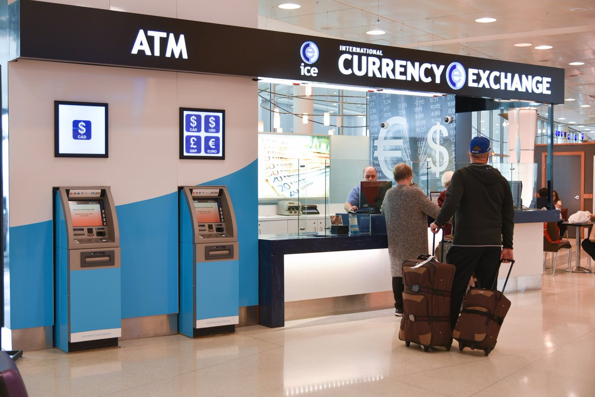 Get The Currency You Need Before Away For Marchbreak At International Exchange In Terminal 1 And 3