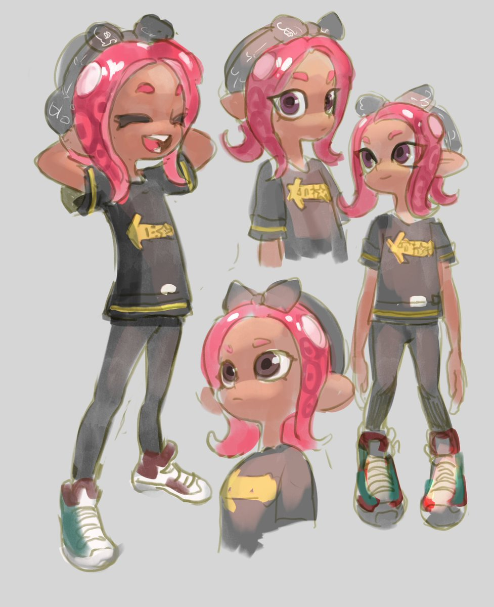 new octo girl is cool