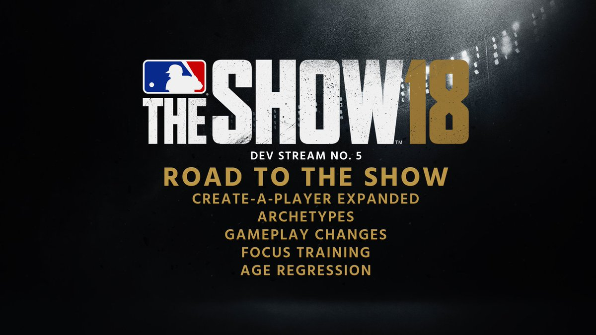 Your road to #TheShow18 starts now. Join us live on #FacebookLive or @Twitch: https://t.co/F4t29CsW8K