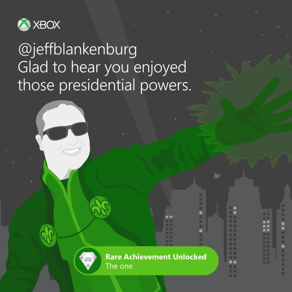 We'd expect nothing less from The Boss. #Xbox https://t.co/ZEf