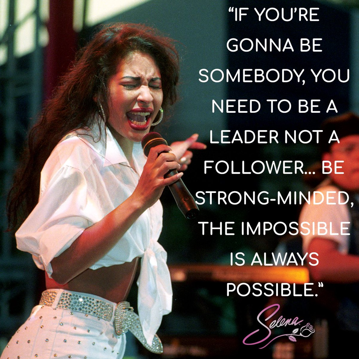 Selena Quintanilla Quotes | Selena Quintanilla On Twitter Selena S Musical Career Surpassed