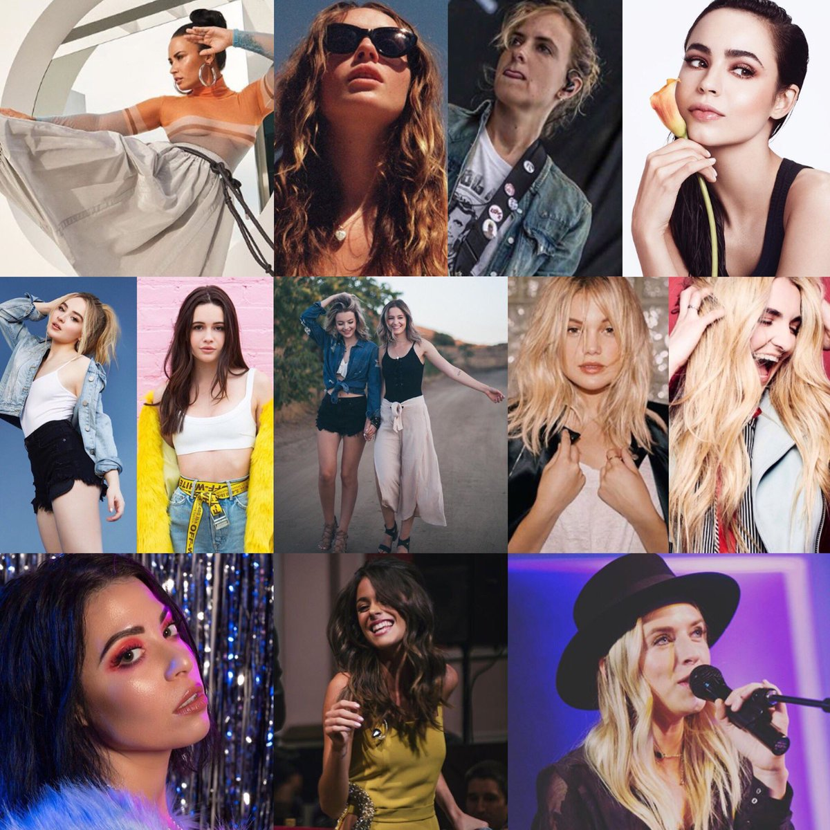 """Hollywood Records on Twitter: """"Happy #InternationalWomensDay to these  bright and beautiful ladies! Thank you for sharing your talent and strength  with the ..."""