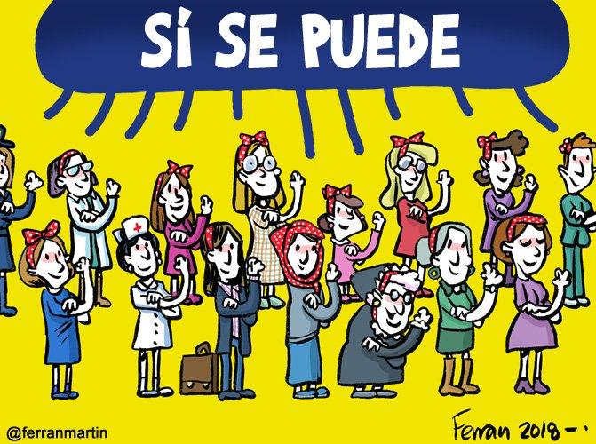 En efecto, podéis. Demostrado. #8deMarzoHuelgaFeminista #manifestacion8M