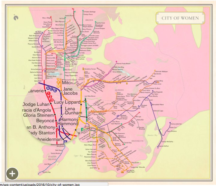 Rebecca Solnit Women Subway Map.Jennifer Fix On Twitter Women Are Vastly Under Represented In