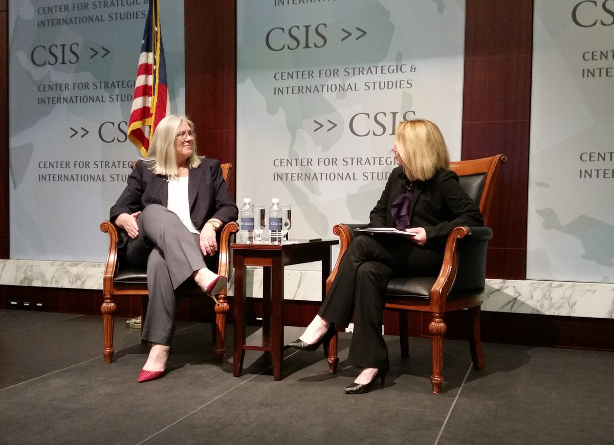 On #InternationalWomensDay, America's Number Two Intelligence Official PDDNI Sue Gordon discusses Intelligence, Innovation, and Inclusion @CSIS @Smartwomen event: csis.org/events/intelli…
