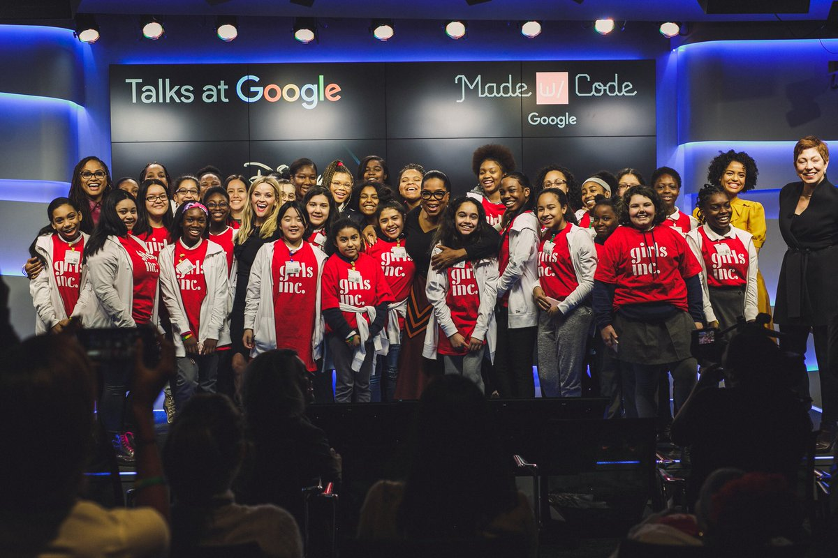 Thanks Google NYC for the special day with these STRONG, SMART, and BOLD girls from @girlsincnyc. Women warriors in the making! Perfect way to spend #InternationalWomensDay #WrinkleInTime