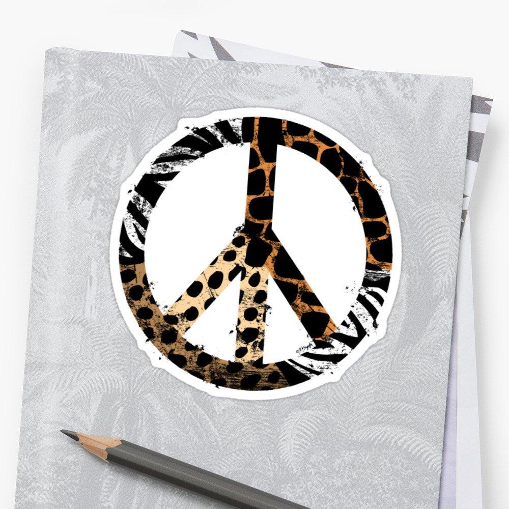 Art Vixen On Twitter Animal Pattern Peacesymbol Tshirts