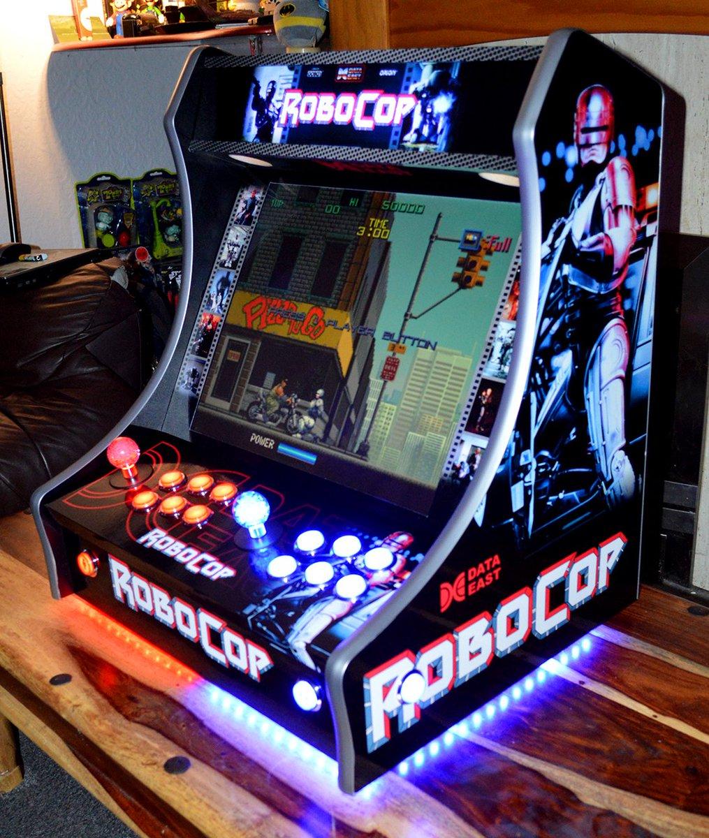 "Mini Arcade Machines on Twitter: ""ROBOCOP ARCADE MACHINE ..."
