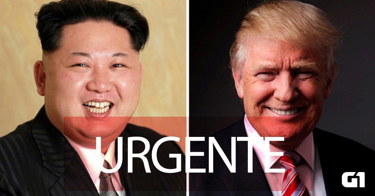 Ditador da Coreia do Norte convida Trump para reunião e americano aceita https://t.co/7vPD7WRAGS