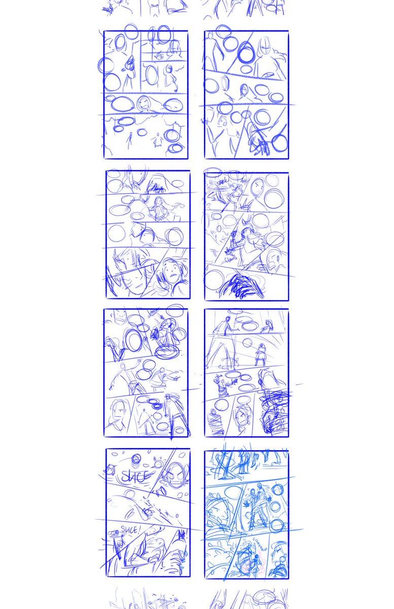 Comic book thumbnail template by ezzyalpha on deviantart.