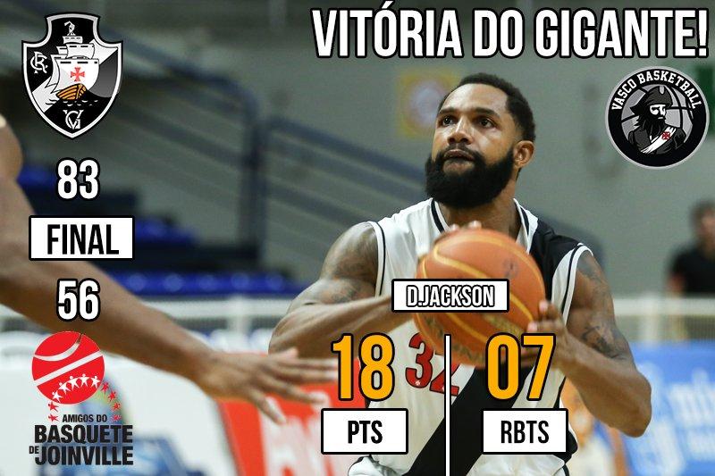 #NBB Vasco 83x56 Joinville - (pós jogo)