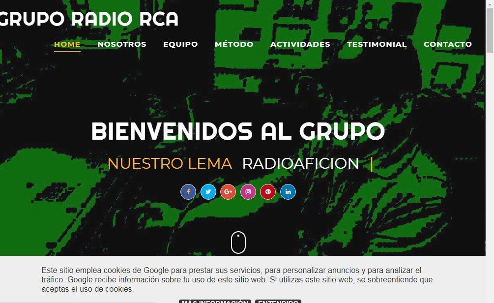 pagina grupo radio rca