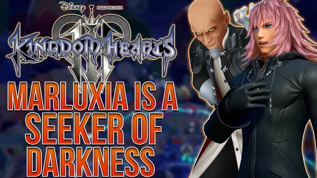 Cynical On Twitter Kingdom Hearts 3 Marluxia Is Apart Of