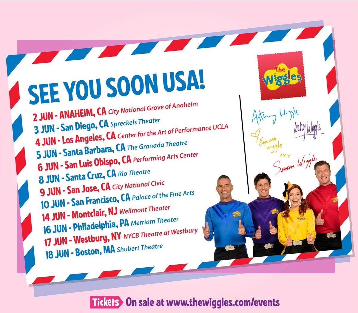 The Wiggles Com Tours