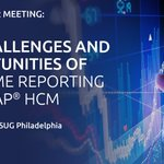 The #ASUG Philadelphia Spring Chapter meeting is taking place on 29 March 2018, discussing the challenges and opportunities of real-time reporting from #SAP #HCM. Have you booked your spot yet? @ASUG_Philly Register here: https://t.co/7unkzwWbxG