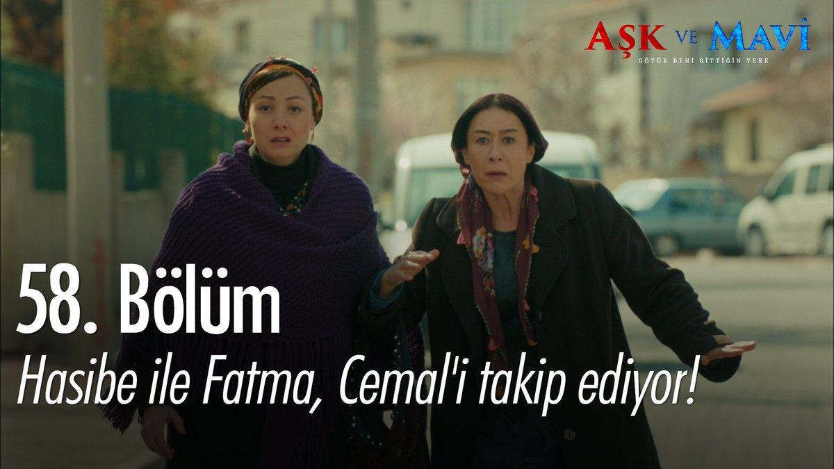 Hasibe ile Fatma, Cemal'i takip ediyor!...