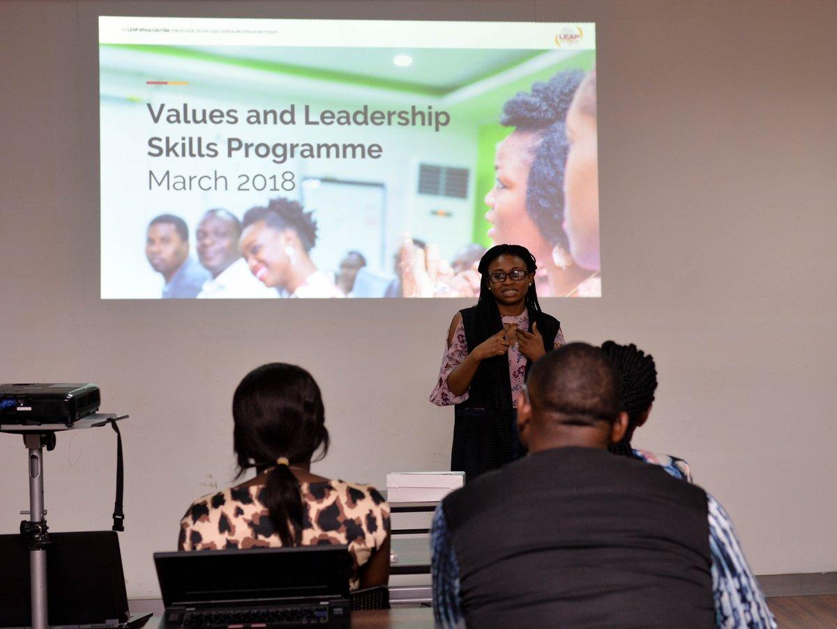 Values and Leadership Skills Programme (...