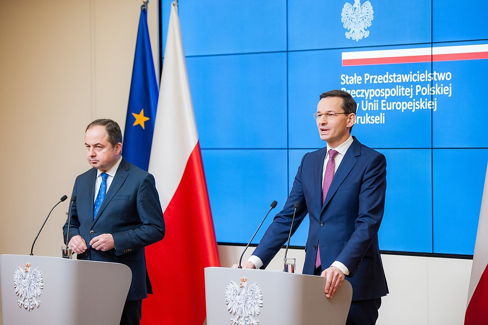 Press conference of PM @MorawieckiM afte...