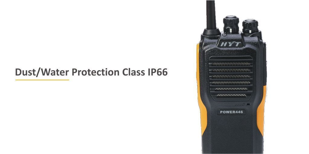 #446Friday - The @Hytera_UK  POWER446 is a rugged + reliable #IP66 water / dust rated #twowayradio - Ideal for harsh environments. Discover More https://t.co/XFCOkX6u9b   #hytera #walkietalkie #Hospitality @HTAnews #edutech #hta #horticulture #gardencentre #heretosupportyou