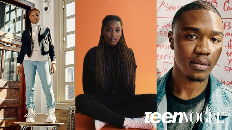 Meet the students and activists speaking truth to power about gun violence and challenging the status quo.  @KenidraRWoods_ @NzaAriKhepra & , in@CliftonKinnie today's , jo@TeenVoguein us at 1pm ET for a livestream here on .  T@twitterweet your questions using .#StudentsForChange
