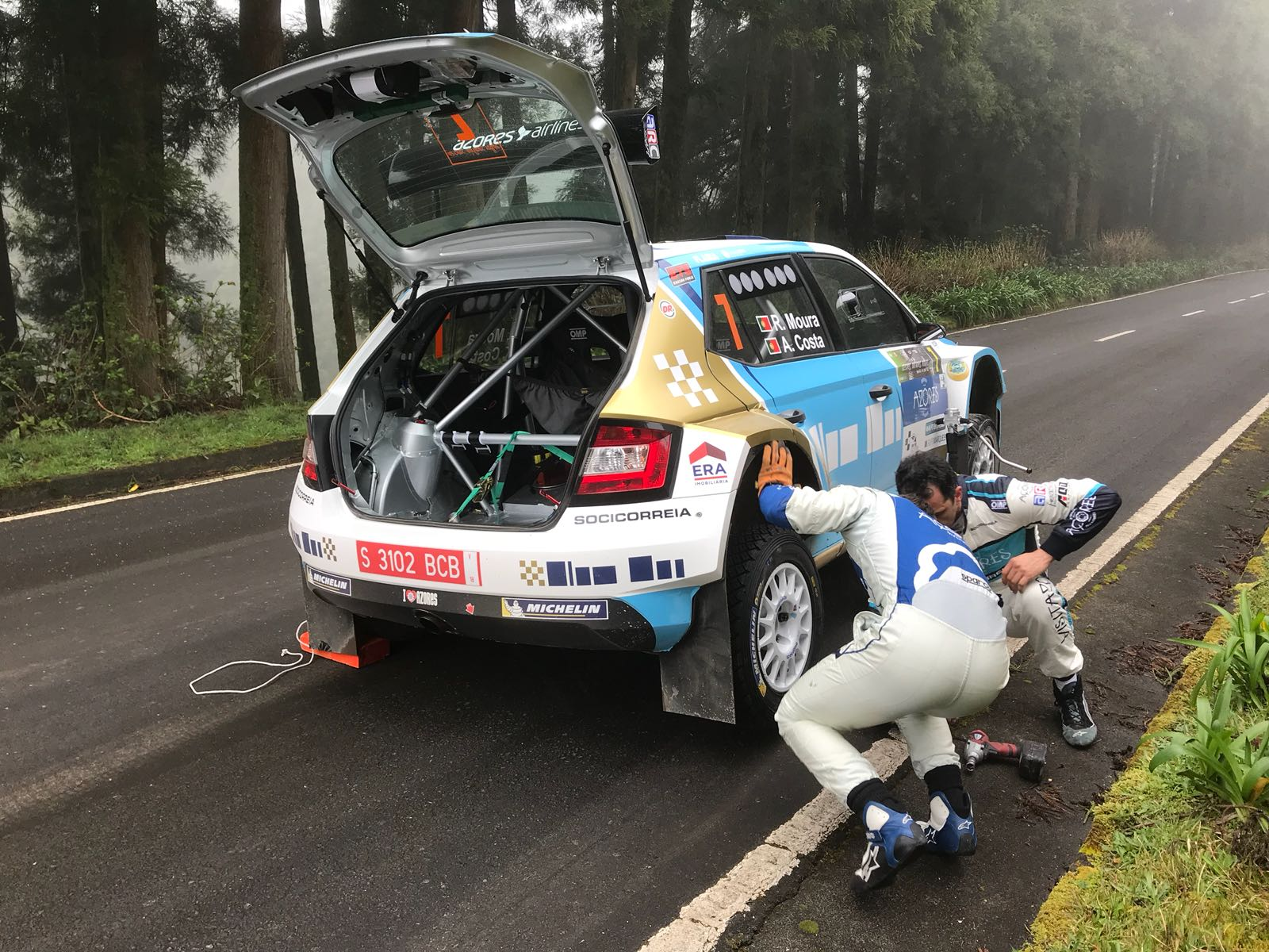 ERC: 53º Azores Airlines Rallye [22-24 Marzo] - Página 3 DY-UUrqW0AAN0GS