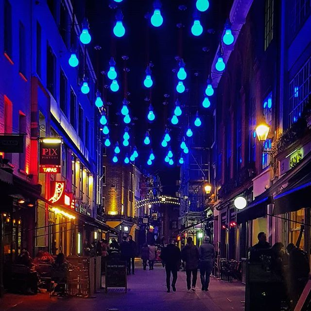 Kingly Street after the pubs closed down. #London #UK #greatbritain #galaxys8 https://t.co/cnq3Oe7bXE
