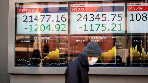 Los aranceles de Trump hacen caer las Bolsas del mundo y subir el oro https://t.co/Qt4OxqxJay