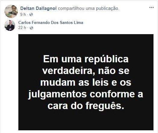 Jus Sperniandi: Procuradores de Curitiba ficam indignados com vitória de Lula no STF https://t.co/eJbZKNGkff