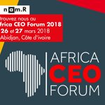 Image for the Tweet beginning: Nous y serons : #AfricaCEOForum