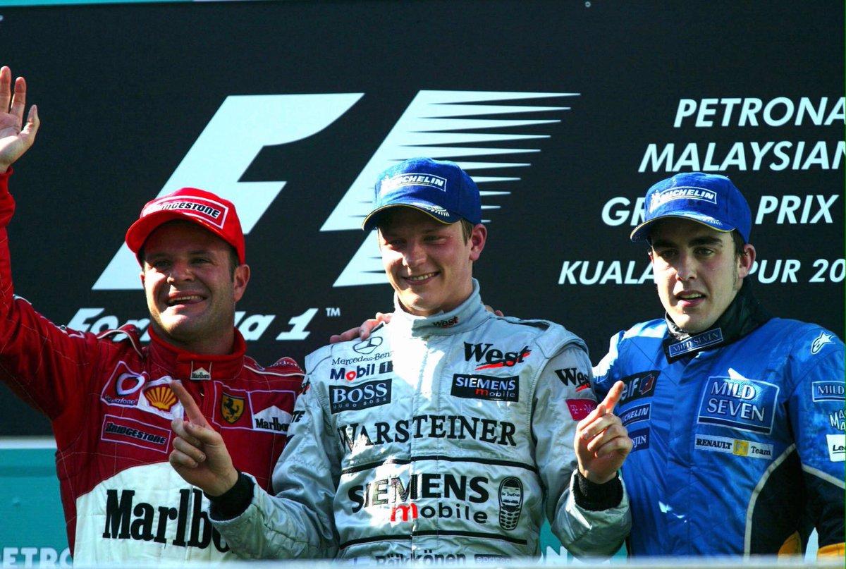 2003-ban ezen a napon szerezte meg Kimi élete első Forma 1-es győzelmét!