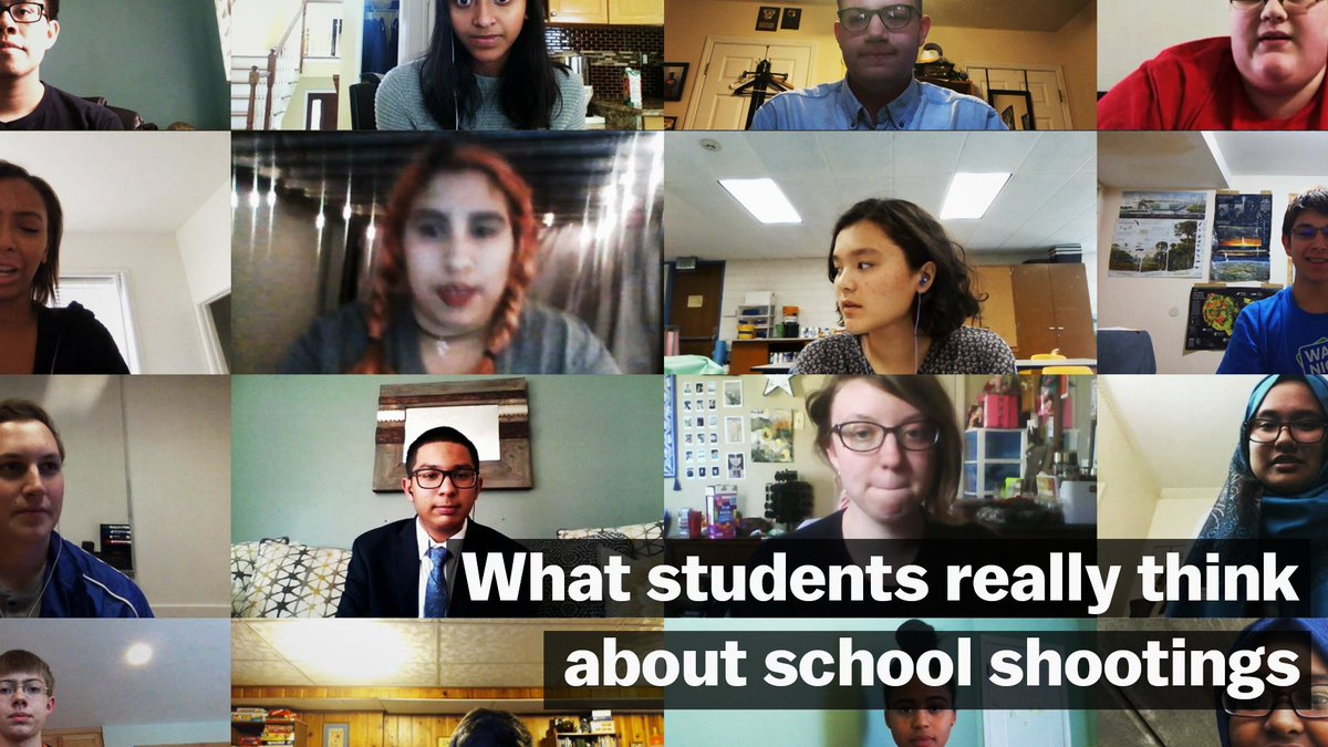 After Parkland, more than 1,600 students told us how they feel about gun violence in America.  Here's what they had to say: