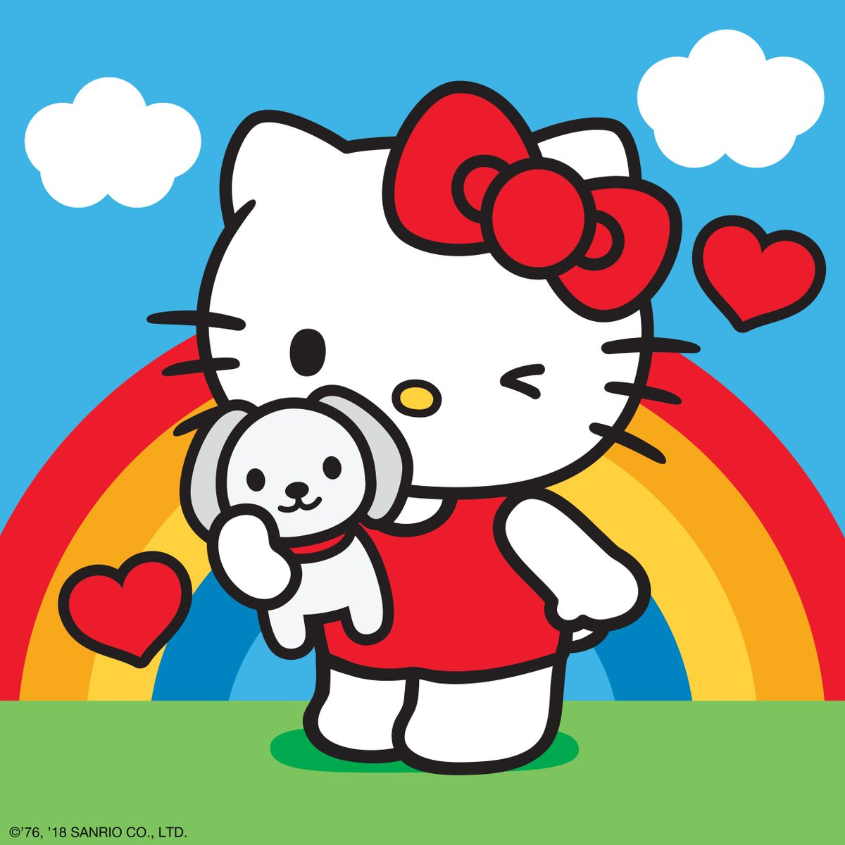 Hello kitty hellokitty twitter for Cassapanca hello kitty