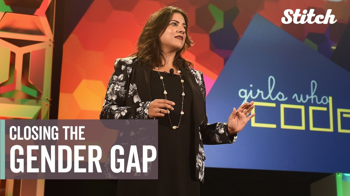 Girls Who Code founder Reshma Saujani hopes to close the gender gap in technology https://t.co/6Nzvr3K5Iy