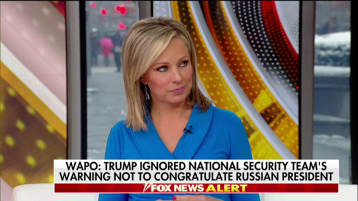 .@SandraSmithFox: 'President Obama too called Putin back in 2012.' #Outnumbered