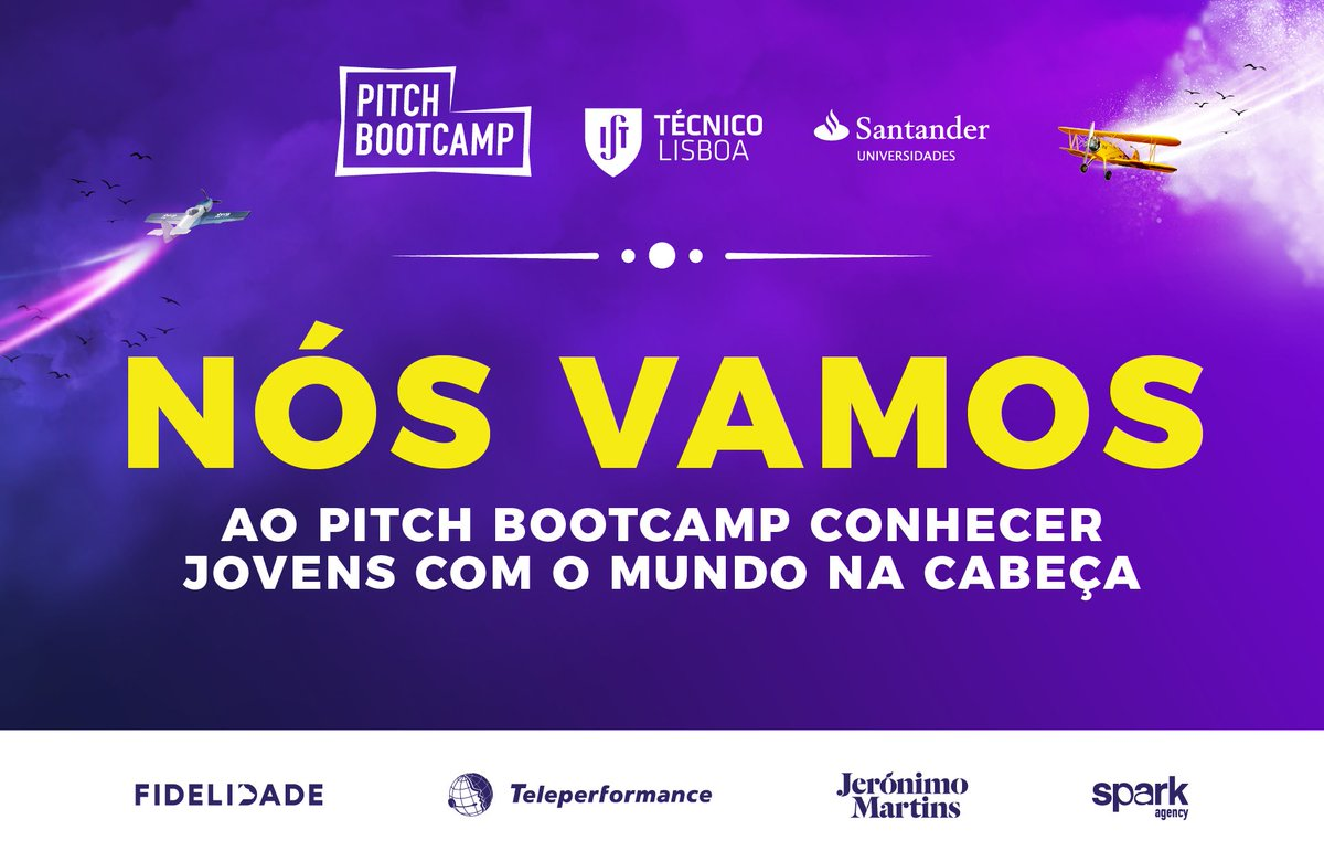 Come meet us @istecnico for #pitchbootcamp on Saturday 7th April from 9h-13h30! Join us through 👉https://t.co/vAaxCTEIex👈 #chilltime #ist https://t.co/WN4tMy65GF