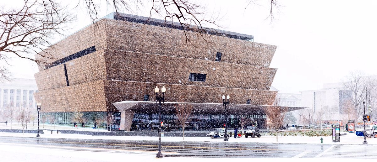 The Museum is open Wednesday, March 21, from 10am to 5:30pm. Timed entry passes will not be required for visitors today. ☃️  Our Sweet Home Café will also serve a full menu 🍽 😋! #SnowDay  📸: Jeremy Long