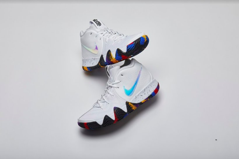 Enjoy The Tournament In The @Nike Kyrie 4 'March Madness'. Grab Your Pair  Tomorrow.