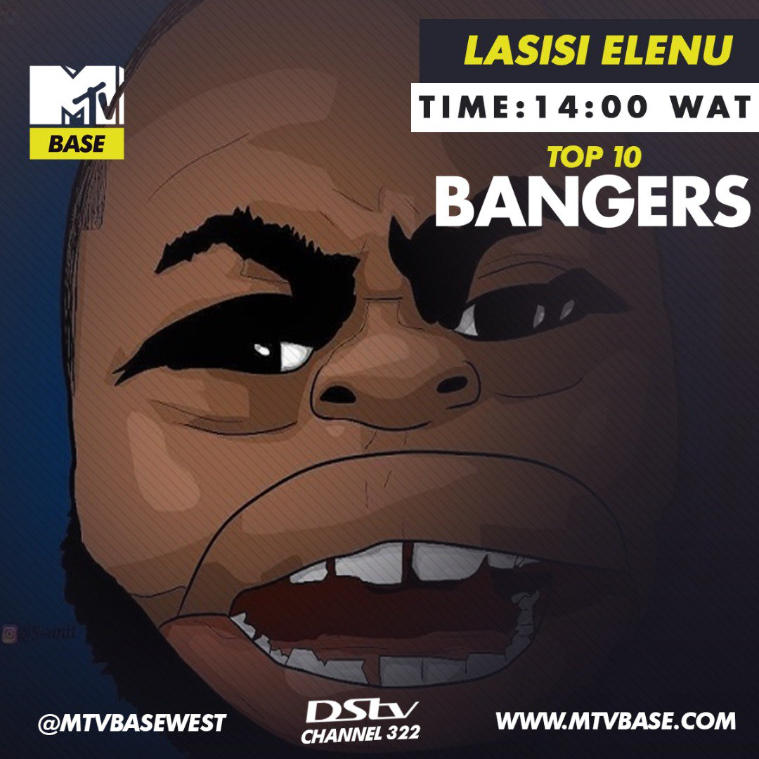 Something just happened right now, it appears to seem that @lasisielenu is taking over our playlist today @ 14:00 WAT with his top 10 banging songs. Tune in to #MTVBaseCh322 NOW and tell us the songs buzzing on your own playlist 😎