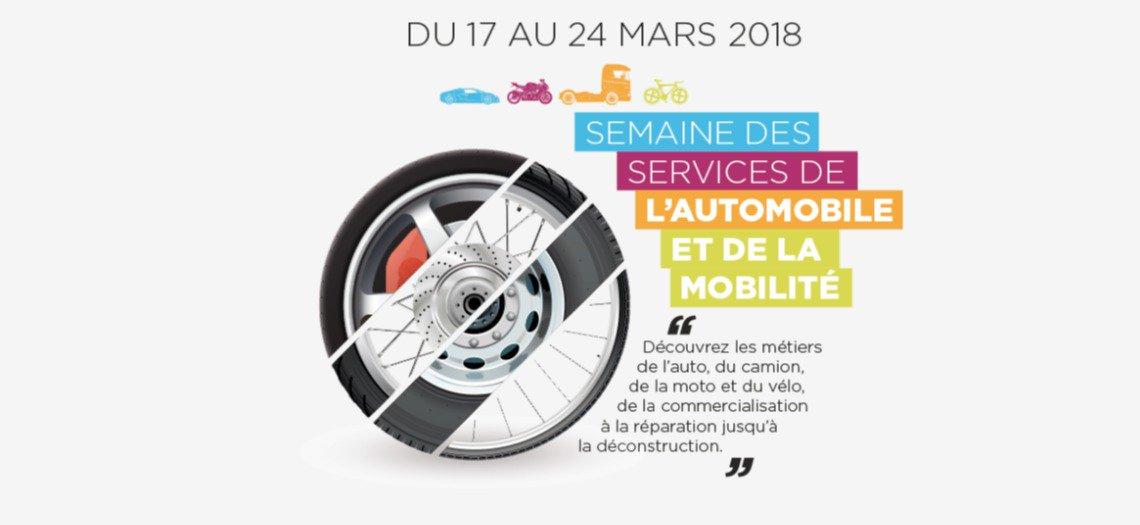 #NOW ☑️🔝 c'est la semaine des services de l'#automobile et de la mobilité 🚗 #SSAM + de 500 événements à découvrir partout en France et en région !  👉https://t.co/naZsFVeQCL https://t.co/dHJMZWUlZx
