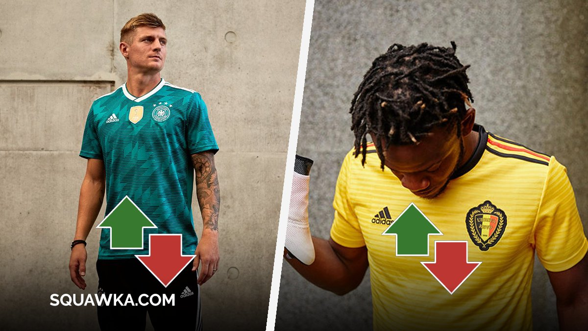 16a84cbe0 RANKING  Every 2018 World Cup kit released so far from best to worst.   iammoallim makes the bold calls - http   sqwk.at KitsWC There s been a new  ...