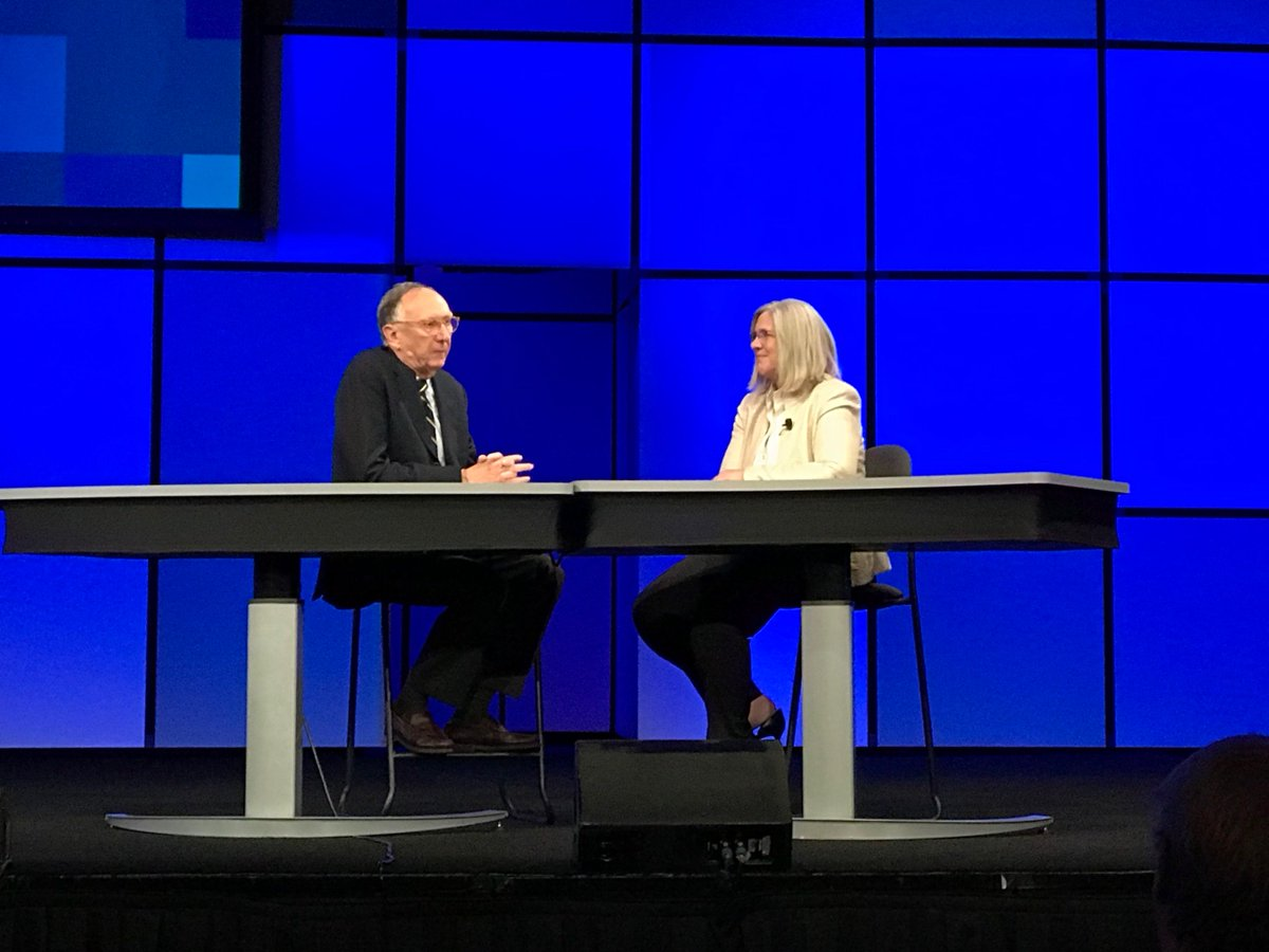 Jack Dangermond and Sue Gordon