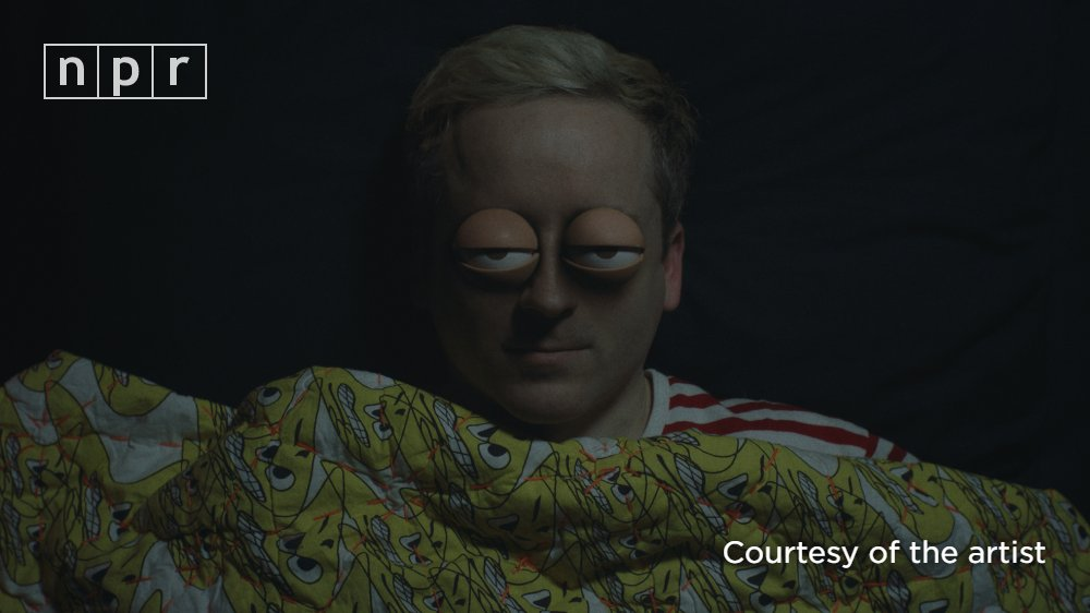 In a new video for the rollicking power-pop track 'Oh Baby,' Hot Chip's Alexis Taylor's eyeballs take part in an absurdist Nora Ephron-style fantasy. https://t.co/WwkBgwUqom