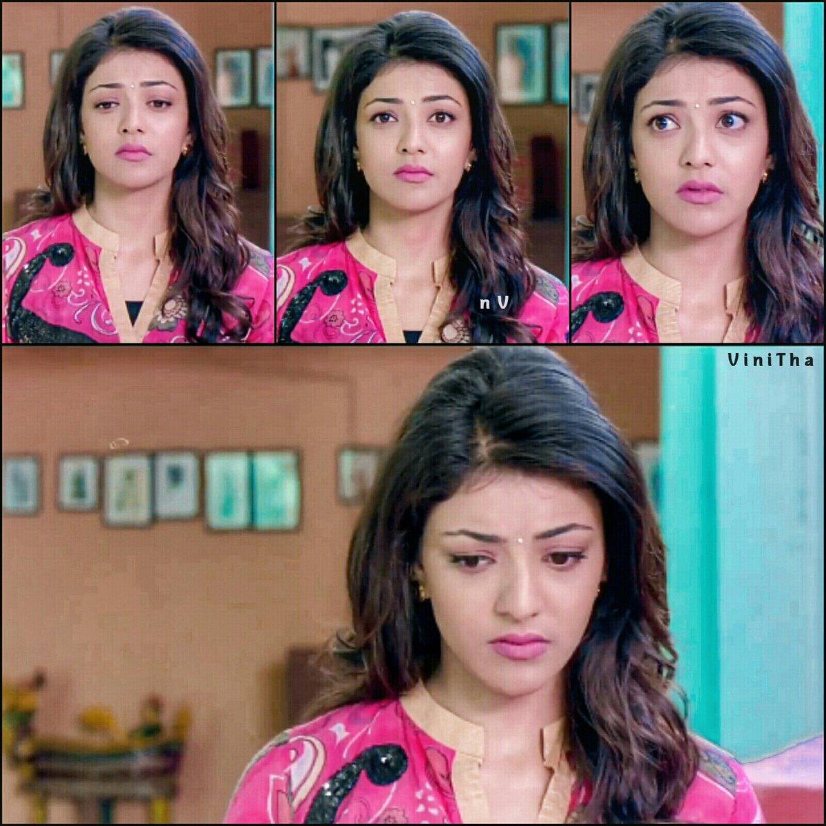 #kajal Sad Expressions 😒😐😑 #KajalAggarwa...