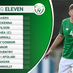 TEAM: Dara O'Shea captains #IRLU19🇮🇪 in their opening game of the Elite Round, against Slovakia.  Full lineups available here ➡️ https://t.co/HE6mvczYUw #COYBIG