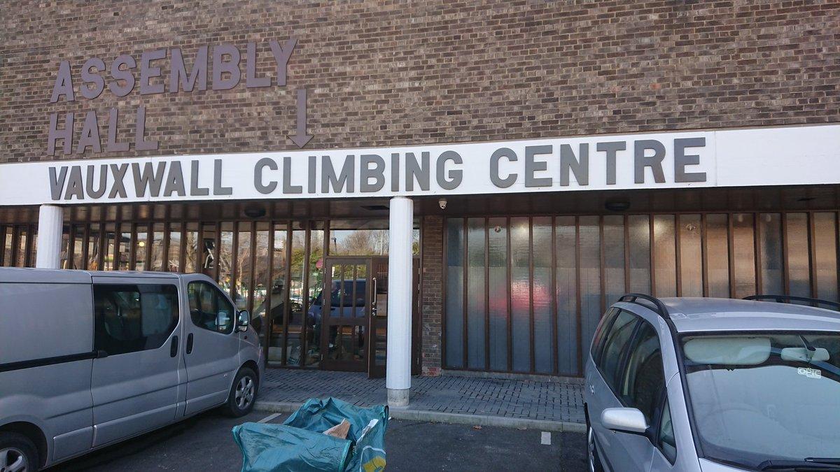 VauxWall Climbing Centres a Twitter: