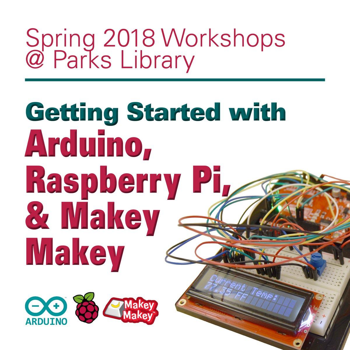 Iowa state u library isulibrary twitter spring 2018 workshops arduino infinity symbol raspberry symbol for raspberry pi keyboard key biocorpaavc