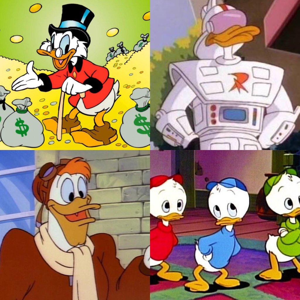 hard choices on twitter scrooge gizmo duck launchpad huey duey